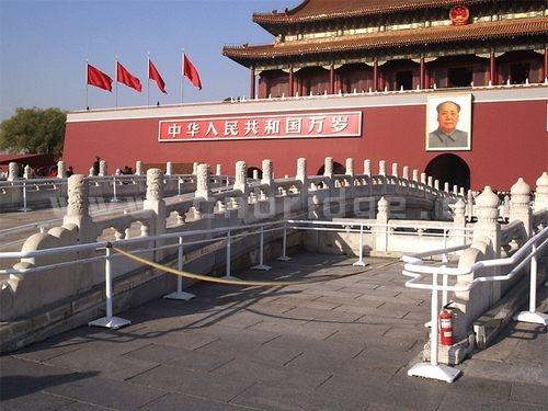 北京金水桥图片_北京天安门前风景_风景520