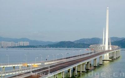国大陆主要跨海大桥系列之 深港西部通道深圳湾大桥