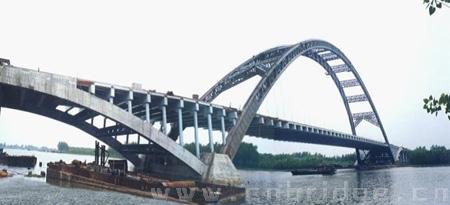 京杭运河特大桥雄姿