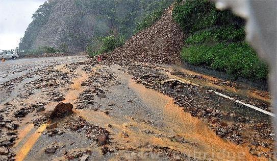 这是10月22日拍摄的苏花公路。