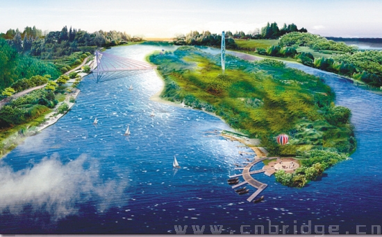 新民市蒲河岛滩地公园年底前竣工