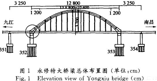 运专线刚架系杆拱桥受力状态研究