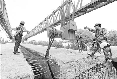 高架桥结构工程完成