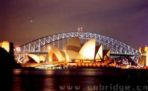 世界第一单孔拱桥 悉尼海港大桥