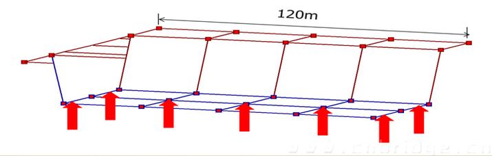 桥梁结构计算简图