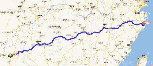 岳阳至青岛高速地图