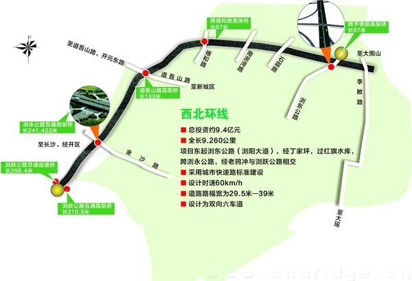 长沙浏阳小镇地图