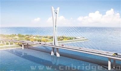 合铜公路杭埠河特大桥于明年年底通车