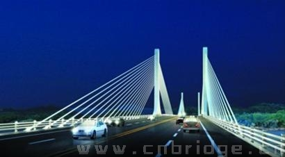 东新高速沙湾大桥 矮塔斜拉桥