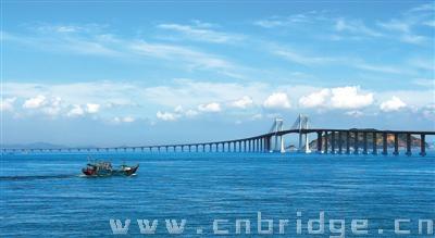 南澳大桥远景图片