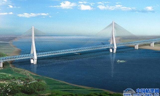桥面的板桁组合结构,新型栓焊组合式双幅拉板索梁