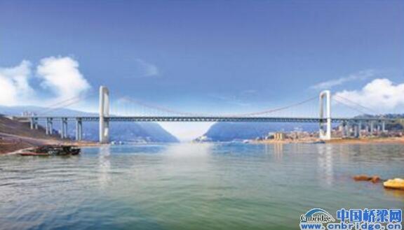 郭家沱长江大桥设计方案通过_路桥资讯_中国桥梁网