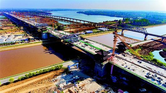 世界最长连续梁桥海子湖特大桥合龙 - 路桥资讯-桥梁要闻、会展报告、路桥政策-土木资料网 -